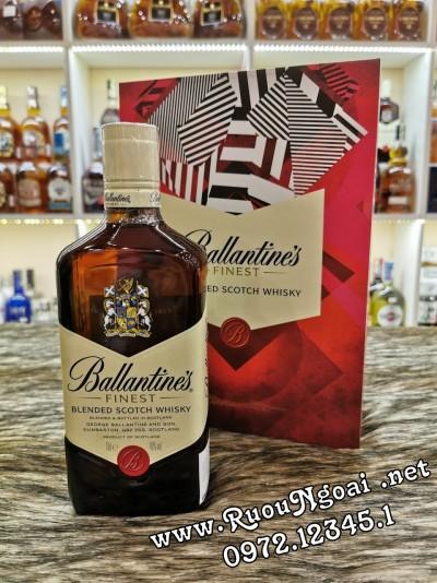 Rượu Ballantine's Finest Hộp Quà