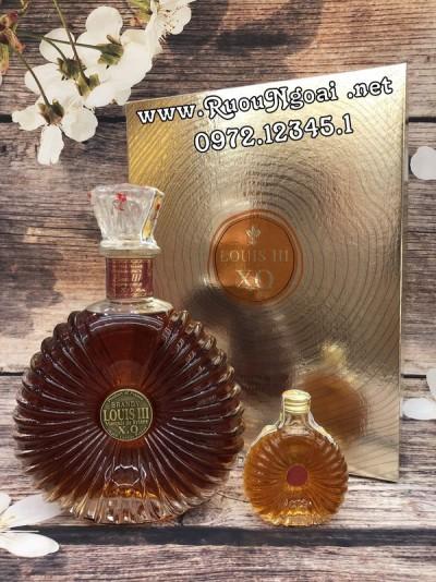Rượu Louis III Brandy XO Hộp Quà