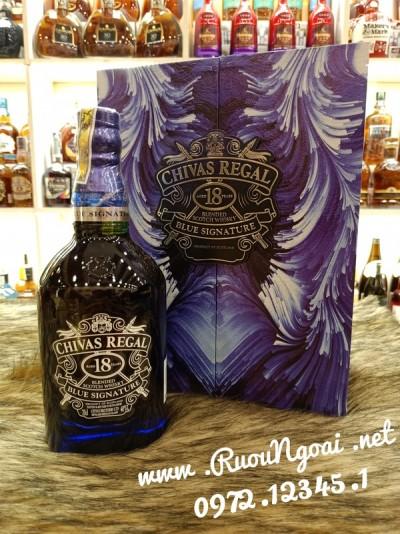 Rượu Chivas 18YO Blue - Hộp Quà 2021