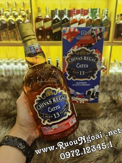Rượu Chivas Extra 13YO American Rye Casks