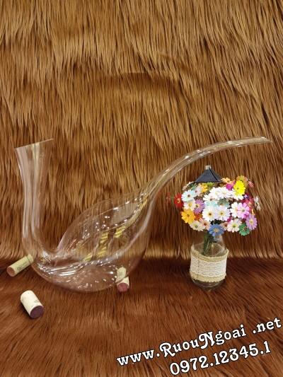 Bình Đựng Rượu Vang - Decanter Dáng Đẹp M08