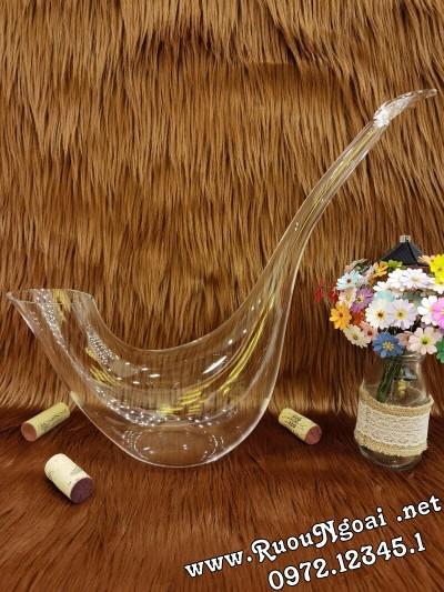 Bình Đựng Rượu Vang - Decanter Dáng Đẹp M11