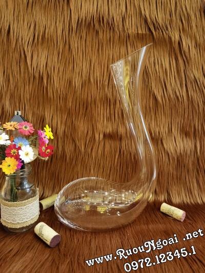 Bình Đựng Rượu Vang - Decanter Dáng Đẹp M12