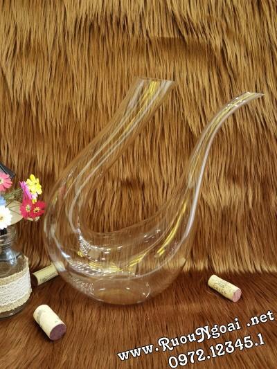 Bình Đựng Rượu Vang - Decanter Dáng Đẹp M16