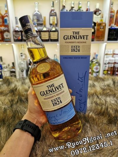 Rượu Glenlivet 1824 Founder's Reserve