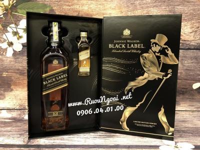 Rượu Johnnie Walker Black Label - Hộp Quà 2019