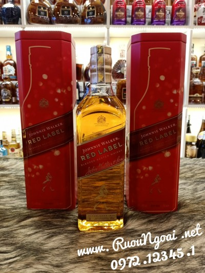 Rượu Johnnie Walker Red Label Tết 2021
