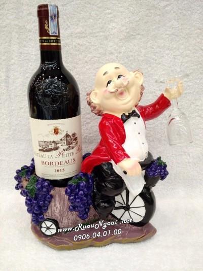 Kệ Rượu Vang Đầu Bếp Lái Xe