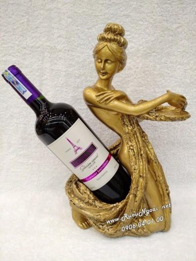 Kệ Rượu Thiếu Nữ Tây Phương