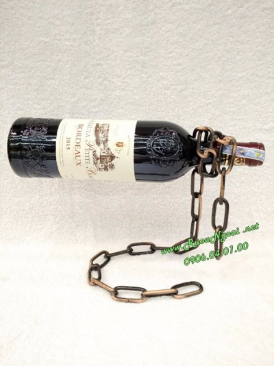 Kệ Rượu Vang Dây Xích