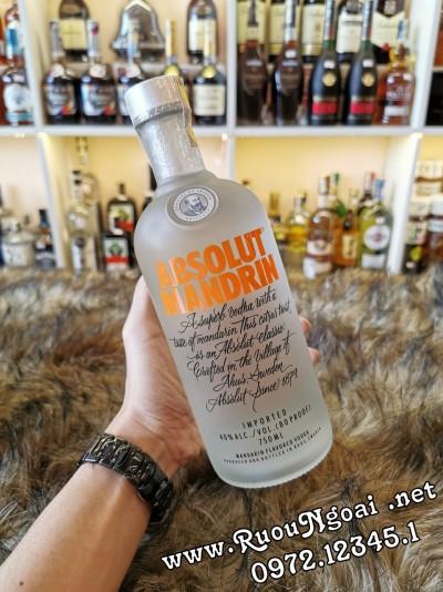 Rượu Vodka Absolut Mandrin