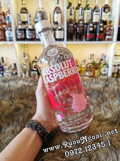 Rượu Vodka Absolut Raspberri