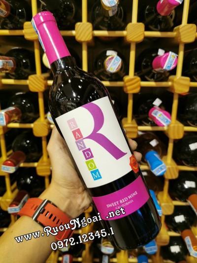 Rượu Vang California Random Sweet Red