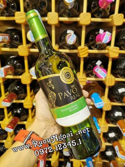 Rượu Vang Pavo Real Sauvignon Blanc
