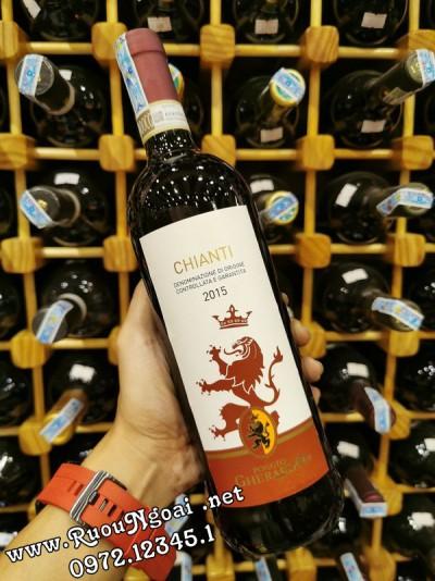 Rượu Vang Chianti 2015