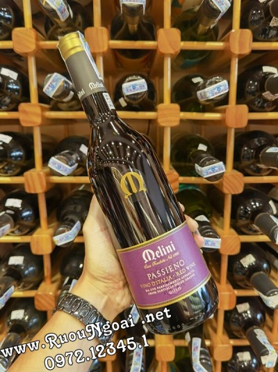 Rượu Vang Delini Passieno Italia