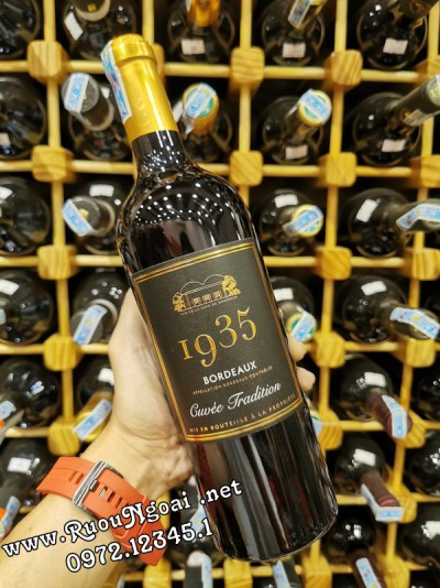 Rượu Vang 1935 Bordeaux