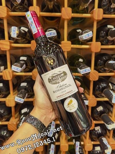 Rượu Vang Chateau Rossignol