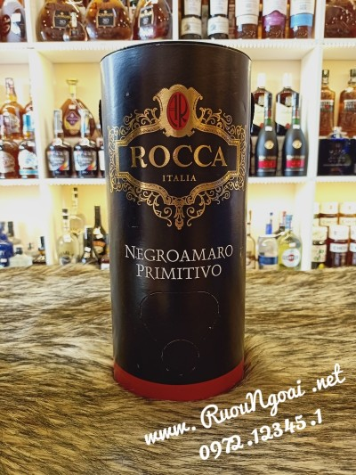 Rượu Vang Ý Rocca Negroamaro Primitivo