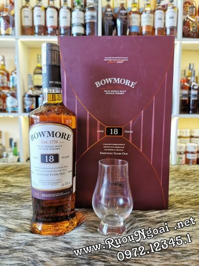 Rượu Bowmore 18YO - Hộp Quà 2020