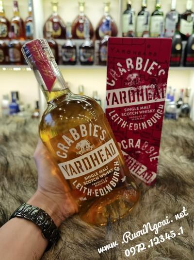 Rượu Crabbies Yardhead Single Malt